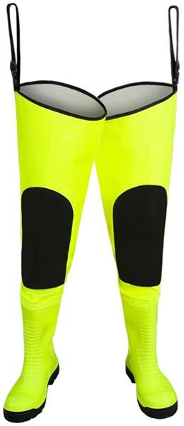 Желтые флуоресцентные сапоги MAX S5 WRM02