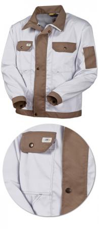 Куртка Маляра белая SWW 471TO1 TenCate. Уменьшенная фотография.