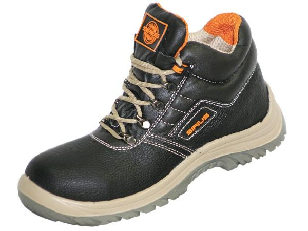 Купить Рабочие ботинки Универсал цвет черный
