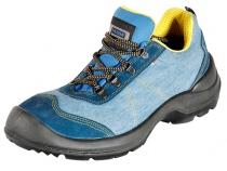 Летние туфли PANDA SPRINT 96655 O1 синие. Уменьшенная фотография.