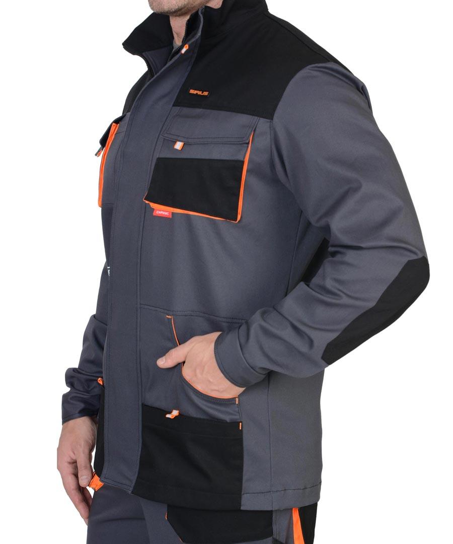 Детали рабочей куртки Манхеттен