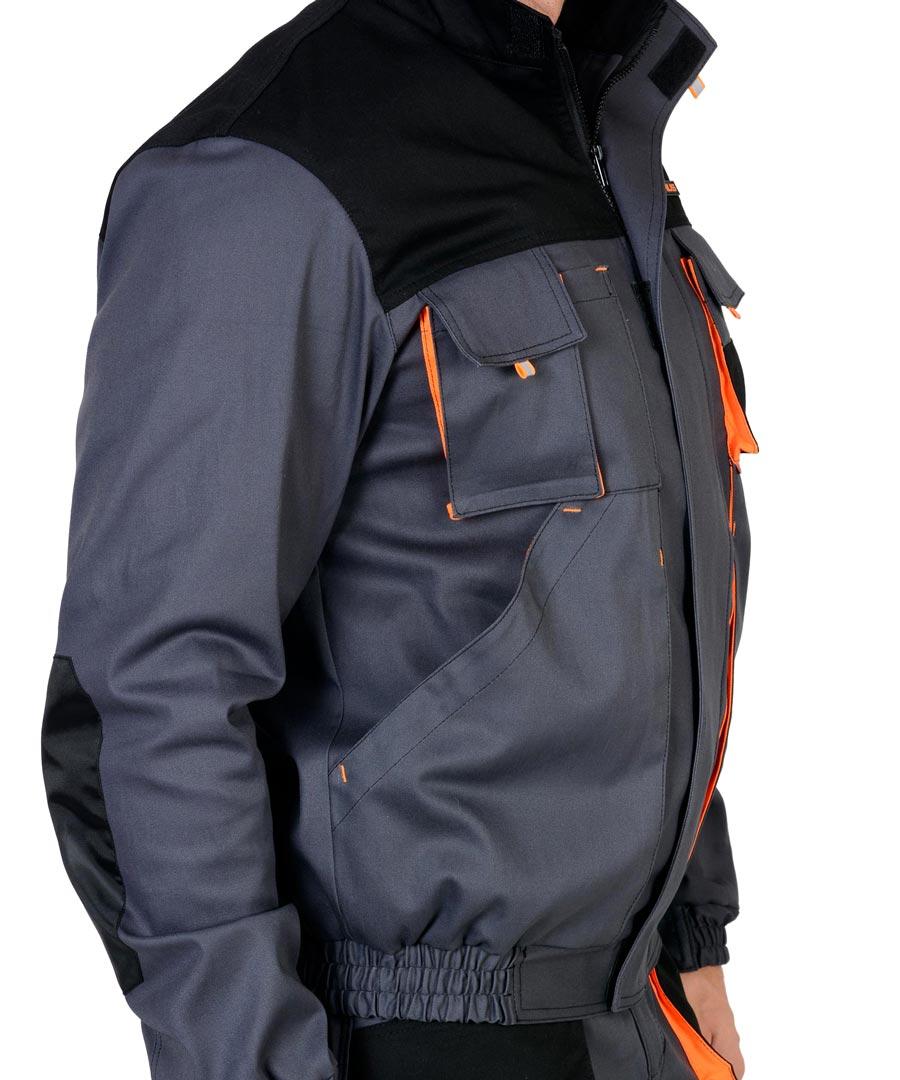 Детали укороченной рабочей куртки Манхеттен